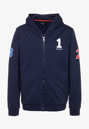 NUMBER - Mikina na zip - navy