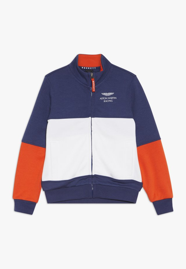 ASTON MARTIN RACING FULL ZIP  - Sweatjakke /Træningstrøjer - blue/white
