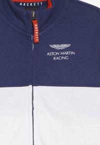 Hackett London - ASTON MARTIN RACING FULL ZIP  - Mikina na zip - blue/white - 3