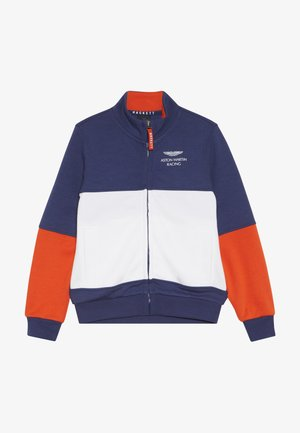 ASTON MARTIN RACING FULL ZIP  - Mikina na zip - blue/white