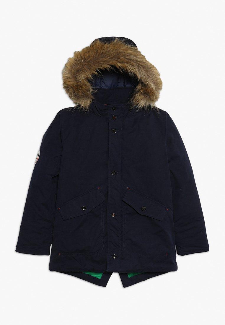 Hackett London - ARCTIC  - Zimní kabát - dark blue