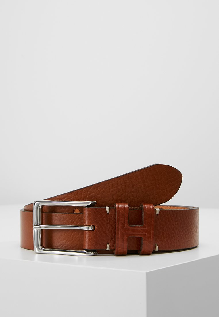 Hackett London - TACK STITCH KEEPER - Ceinture - tan