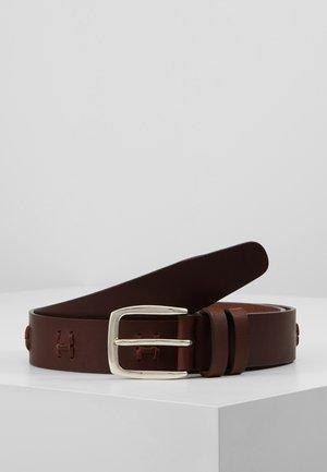 TONAL KNOT BELT - Belt - brown