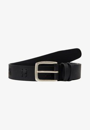 TONAL KNOT BELT - Belte - black