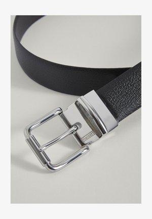 GRAIN - Belt - blk/brown
