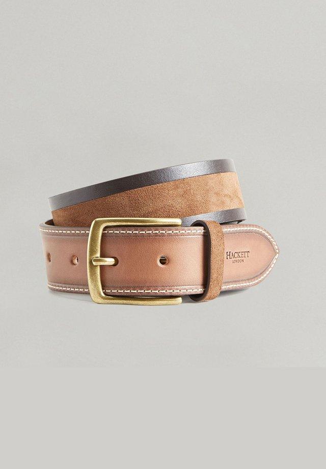 INLAY  - Belt - brown