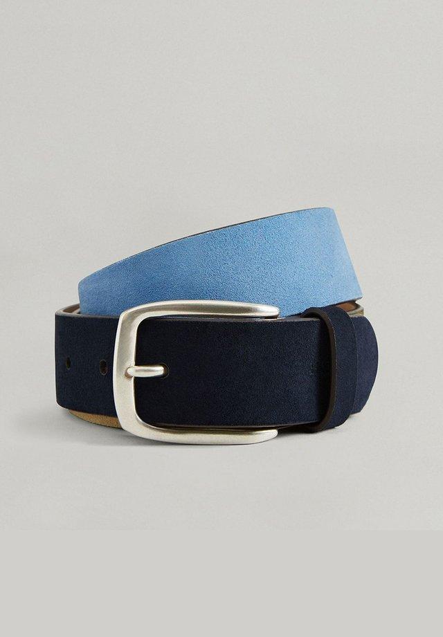 Belt - navy/multi