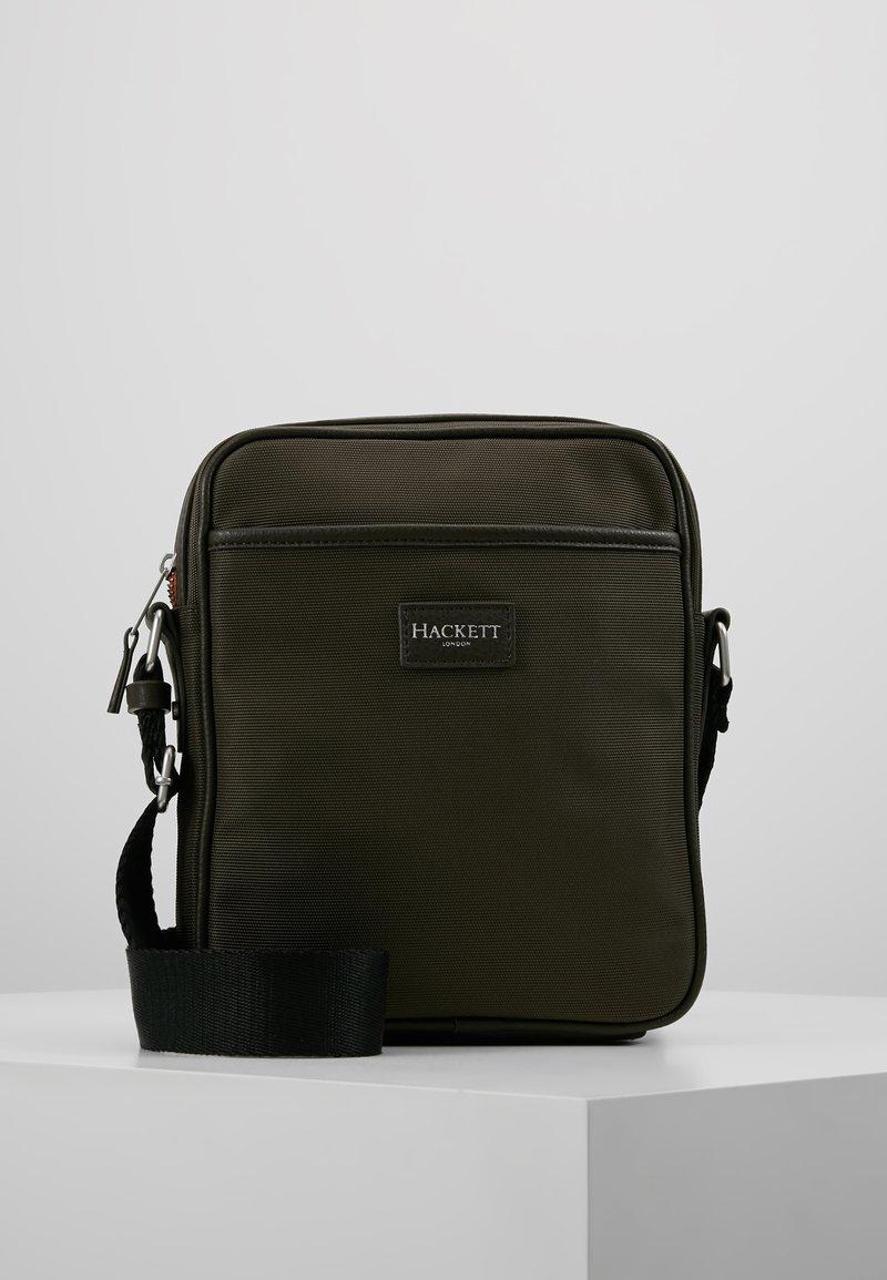 Hackett London - DAYBAG - Across body bag - khaki