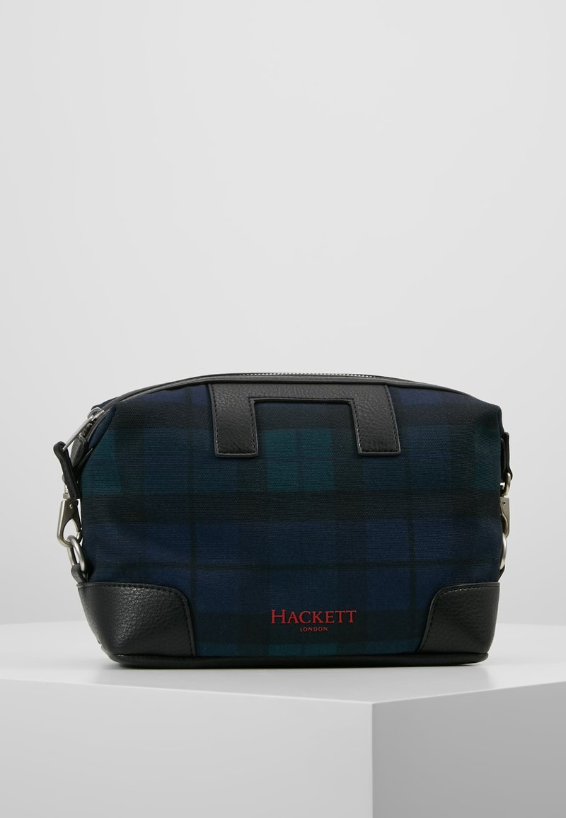 Hackett London - TARTAN WASHBAG - Trousse - dark blue