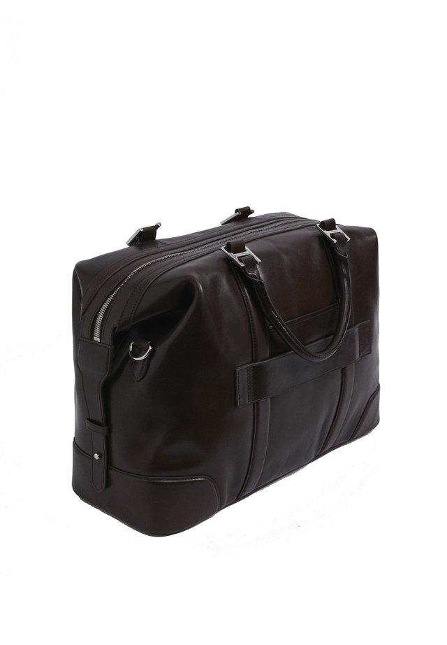 H FL HOLDALL - Weekend bag - dark brown