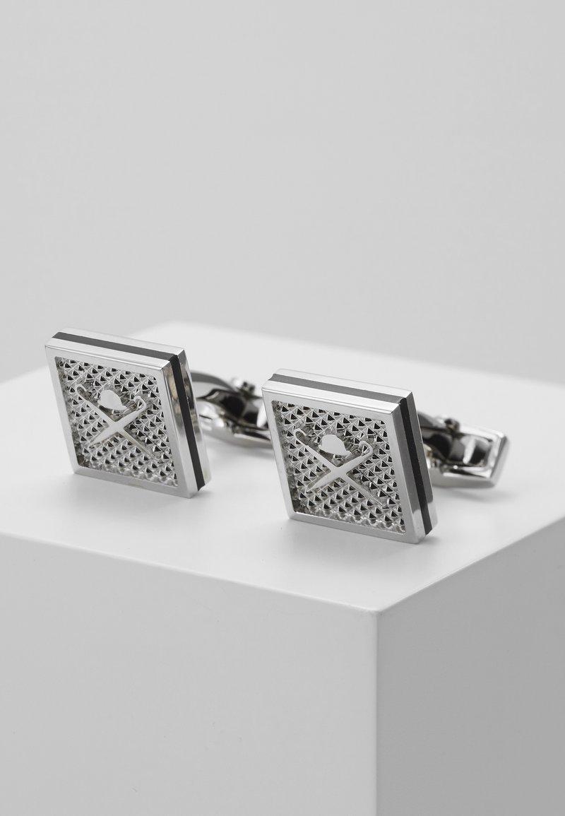 Hackett London - Manžetové knoflíčky - silver-coloured