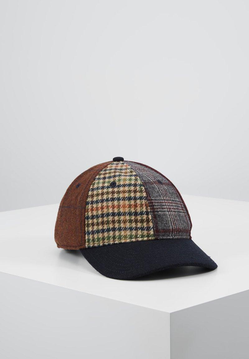 Hackett London - PATCHWORK CAP - Czapka z daszkiem - multi-coloured