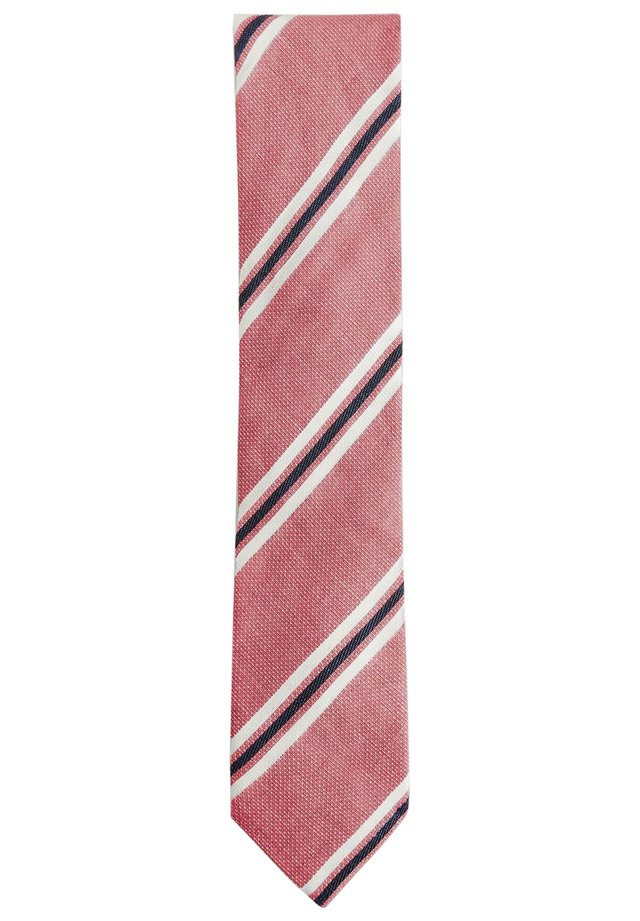 NOVELTY STRIPE  - Tie - pink