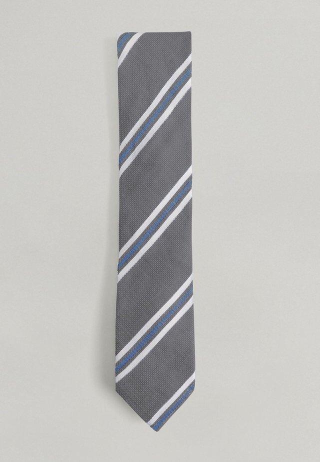 NOVELTY STRIPE  - Tie - navy
