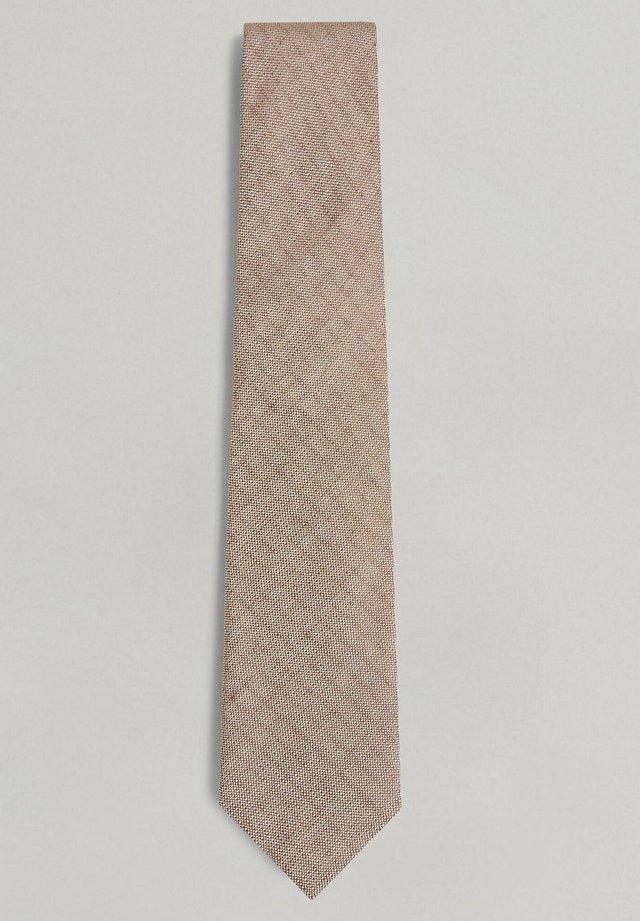 Tie - light brown