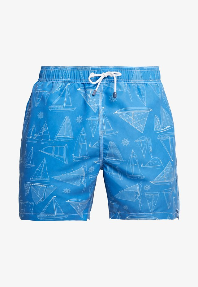 DOUBLE FACED - Short de bain - blue
