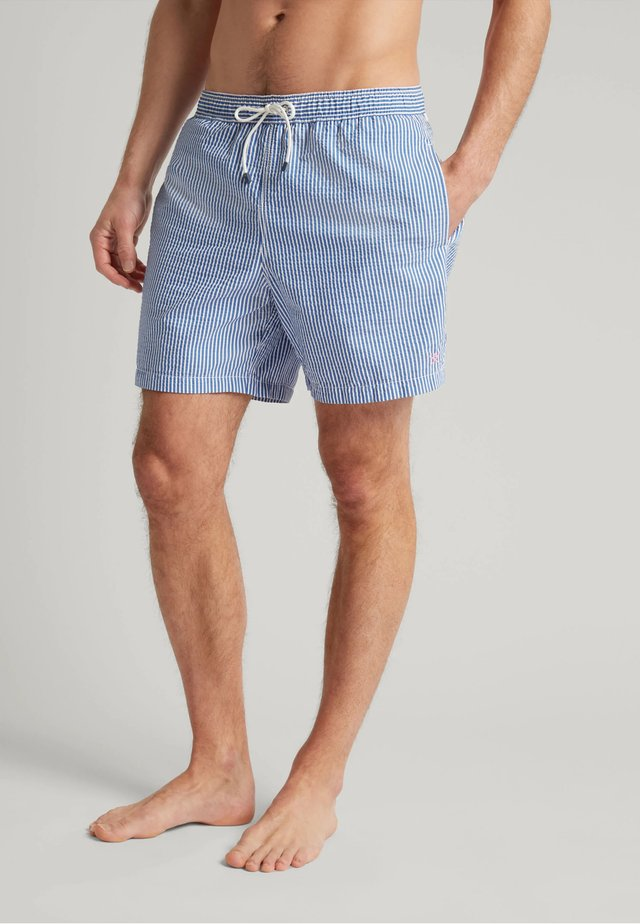 BOLD STRIPE - Swimming shorts - royal blue