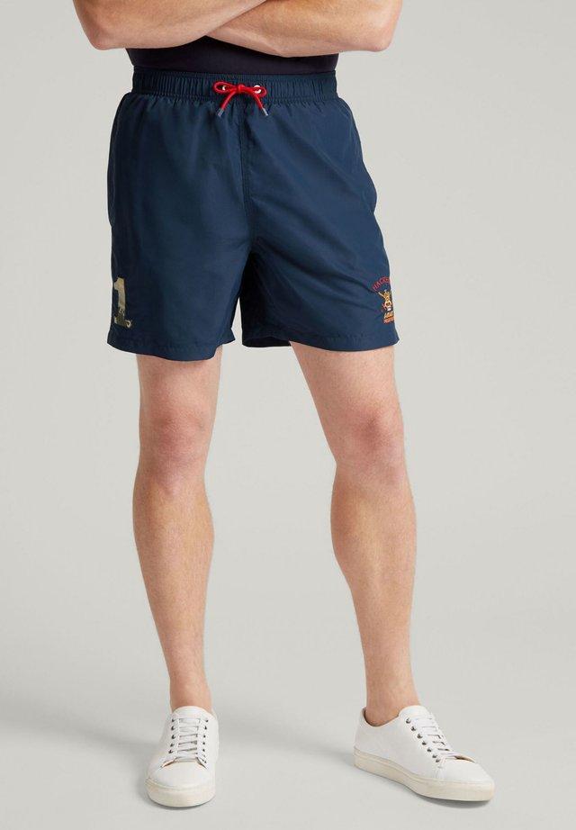 ARMY POLO CAMO - Swimming shorts - navy