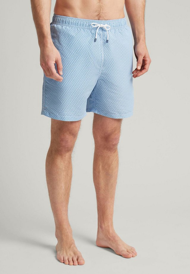 TENNIS GEO - Swimming shorts - regatta blu
