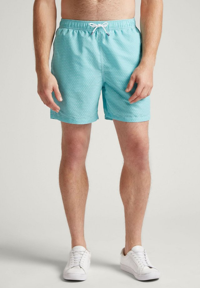 TENNIS GEO - Swimming shorts - spearmint