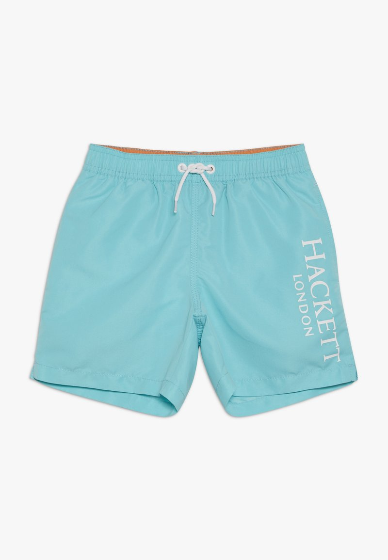 Hackett London - LOGO VOLLEY - Plavky - turquoise
