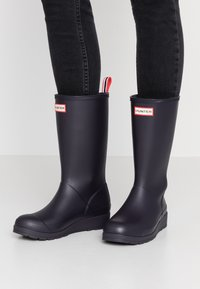Hunter ORIGINAL - ORIGINAL PLAY BOOT TALL - Holínky - kombu - 0