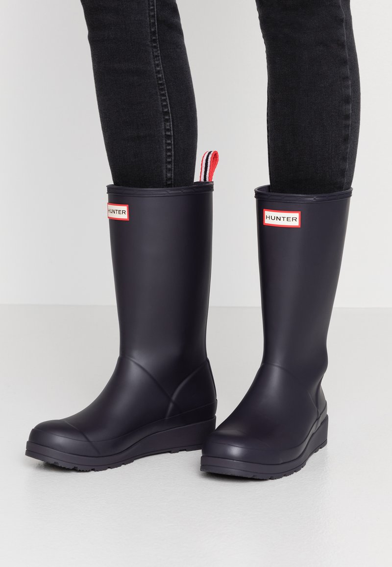 Hunter ORIGINAL - ORIGINAL PLAY BOOT TALL - Holínky - kombu