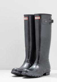 Hunter ORIGINAL - WOMENS ORIGINAL TALL - Wellies - black - 4