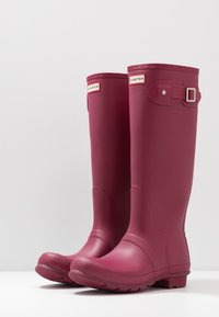 Hunter - WOMENS ORIGINAL TALL - Regenlaarzen - red algae - 4