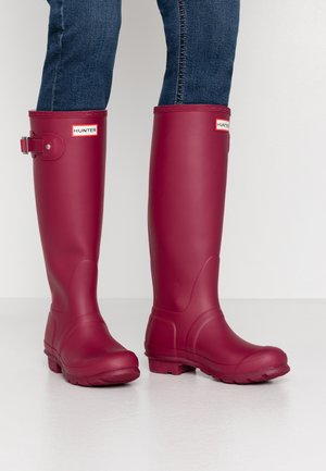 WOMENS ORIGINAL TALL - Regenlaarzen - red algae