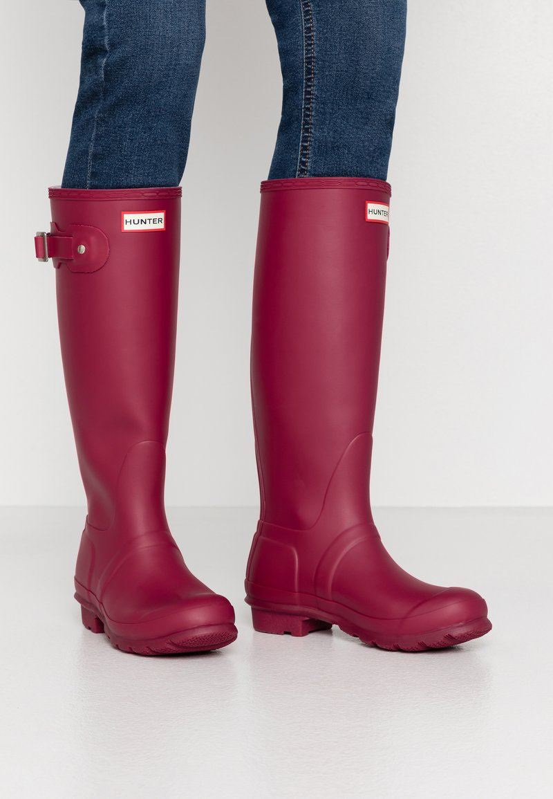 Hunter - WOMENS ORIGINAL TALL - Regenlaarzen - red algae