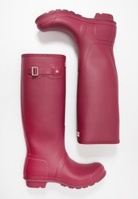 Hunter - WOMENS ORIGINAL TALL - Regenlaarzen - red algae - 3