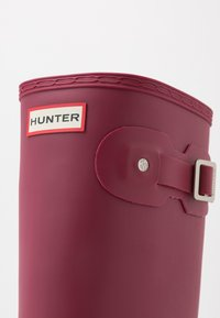 Hunter - WOMENS ORIGINAL TALL - Regenlaarzen - red algae - 2