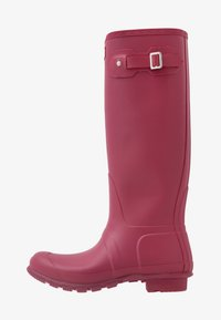 Hunter - WOMENS ORIGINAL TALL - Regenlaarzen - red algae - 1