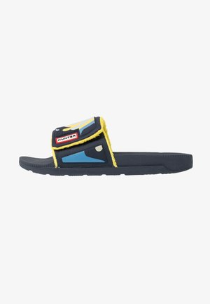 WOMENS ORIGINAL ADJUSTABLE SLIDE - Sandalias planas - nori slug