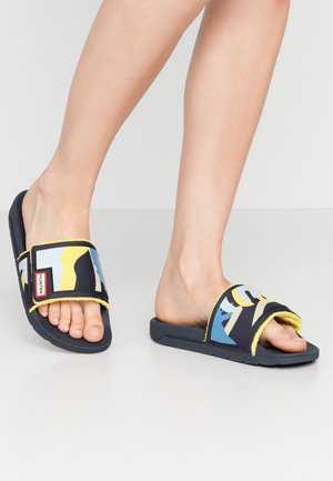 WOMENS ORIGINAL ADJUSTABLE SLIDE - Mules - nori slug