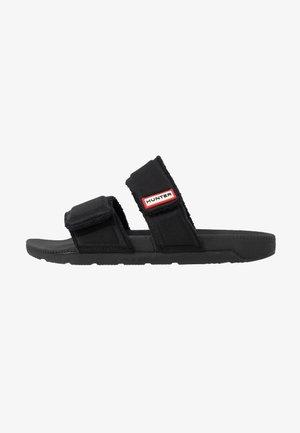 WOMENS ORIGINAL TWO STRAP SLIDE - Pantofle - black