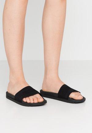 WOMENS ORIGINAL ELASTIC SLIDE - Mules - black