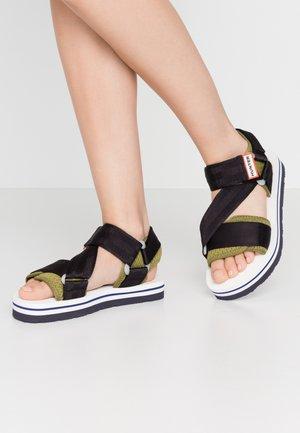 WOMENS ORIGINAL BEACH - Sandals - carragreen/kombu
