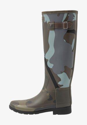 WOMENS REFINED SLIM FIT BOOTS - Regenlaarzen - smoke/grey/black