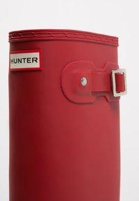 Hunter ORIGINAL - ORIGINAL TALL - Wellies - military red - 6