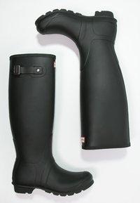 Hunter ORIGINAL - ORIGINAL TALL - Kumisaappaat - black - 3