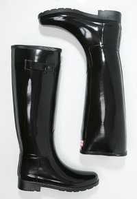 Hunter - ORIGINAL REFINED GLOSS - Wellies - black - 3