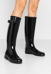 Hunter ORIGINAL - ORIGINAL REFINED GLOSS - Wellies - black - 0