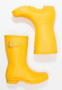 Hunter - WOMENS ORIGINAL SHORT - Wellies - yellow - 2