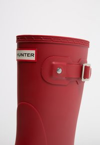 Hunter ORIGINAL - WOMENS ORIGINAL SHORT - Wellies - military red - 6