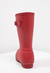 Hunter ORIGINAL - WOMENS ORIGINAL SHORT - Wellies - military red - 4
