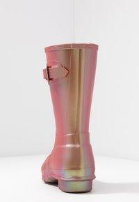 Hunter - WOMENS ORIGINAL SHORT - Gummistövlar - rhythmic pink - 5