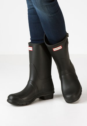 WOMENS ORIGINAL SHORT - Bottes en caoutchouc - black