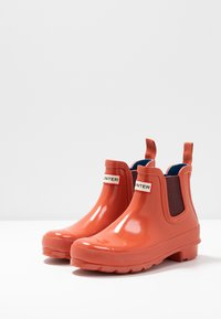 Hunter ORIGINAL - WOMENS ORIGINAL CHELSEA GLOSS - Wellies - siren - 4
